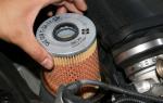 Меняем масляный фильтр в автомобиле