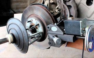 Что такое проточка тормозных дисков