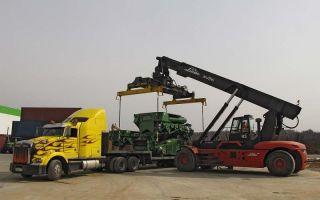 Как должна осуществляться перевозка станков и оборудования?